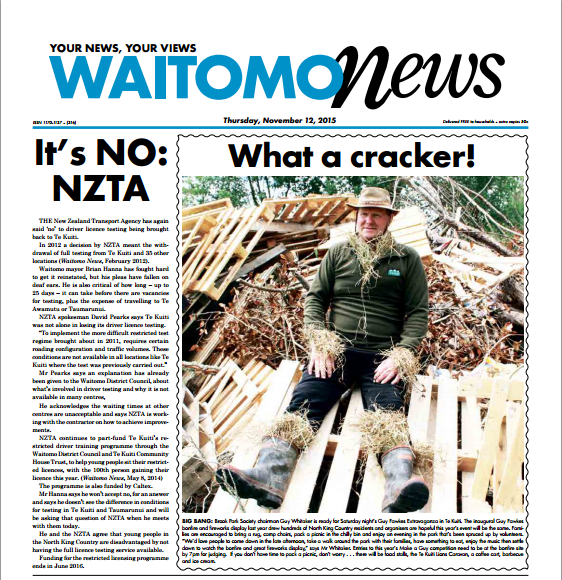 Waitomo News